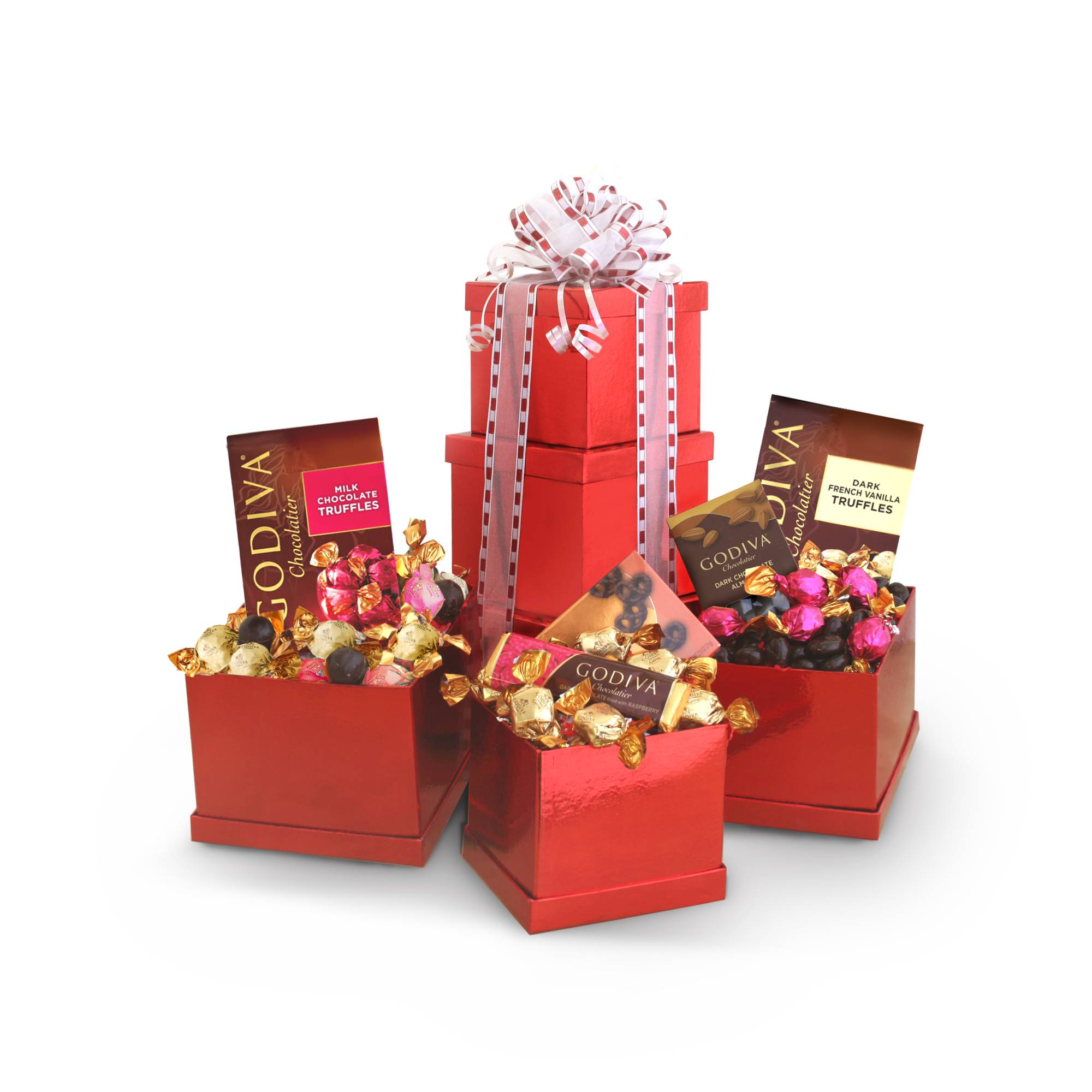 Godiva® Heights of Passion Valentine Tower