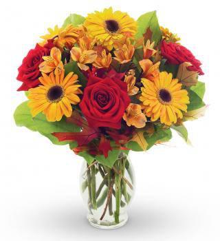Golden Blooms Bouquet