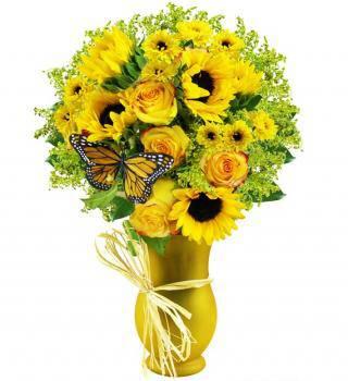 Golden Glow Bouquet