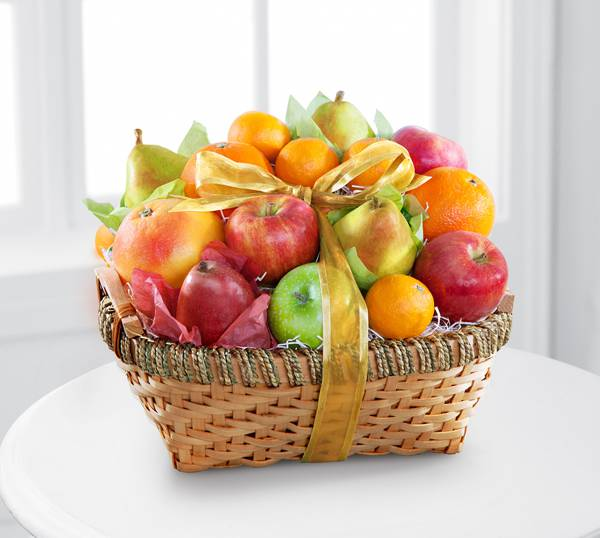 Gourmet Goodness Kosher Fruit Basket