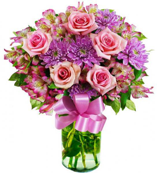 Flowers: Her Majesty Pink Bouquet
