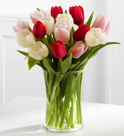 Here in My Heart Tulip Bouquet