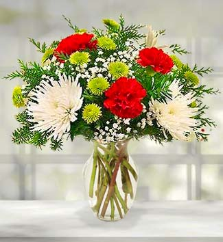 Holiday Blooms Bouquet