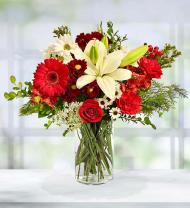 Mixed Christmas Holiday Bouquet