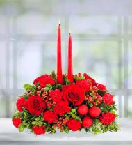 Holiday Celebrations centerpiece