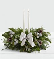 Holiday Eucalyptus Centerpiece