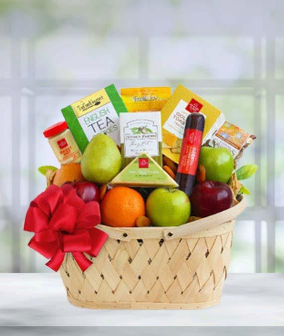 Holiday Fruit Greetings