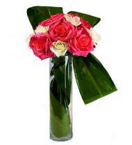 Hot Pink and White Pure Style Bouquet