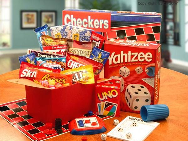 It's a Family Game Night Care Package