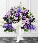 Lavender Sympathy Floor Basket
