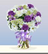 Lavender Sympathy Vase