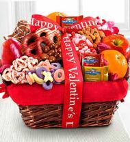 Lovely Day Valentine Gourmet Gift Basket