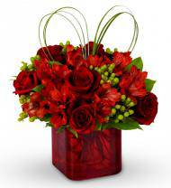 Luscious Reds Bouquet
