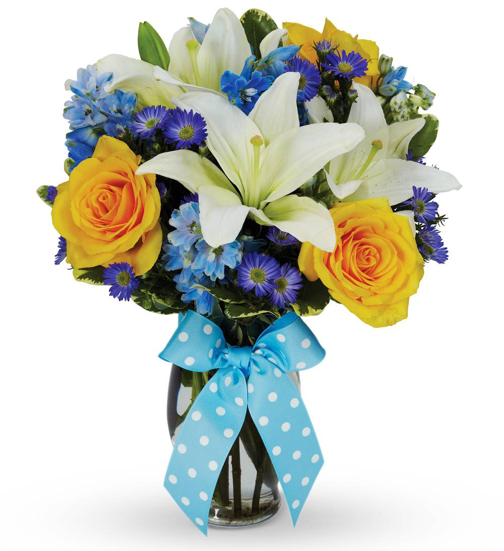 Bouncing Baby Boy Bouquet