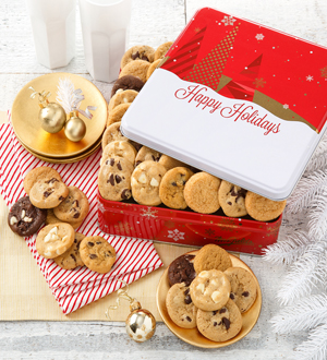 Mrs. Field's Holiday Cookie Tin