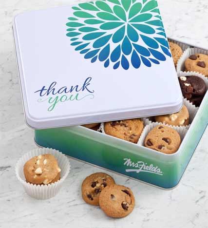 Mrs. Fields® Thank You Tin