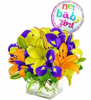 New Baby Bouquet - Girl