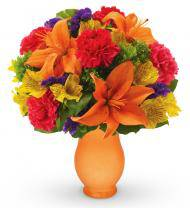 Orange Perfection Bouquet