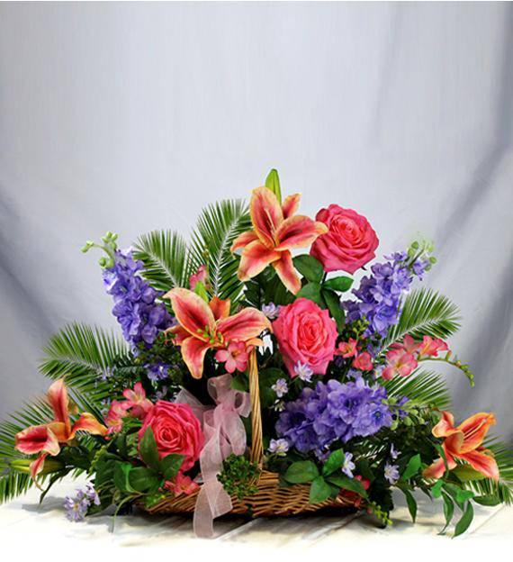 pastel sympathy fireside basket avas flowers. Black Bedroom Furniture Sets. Home Design Ideas