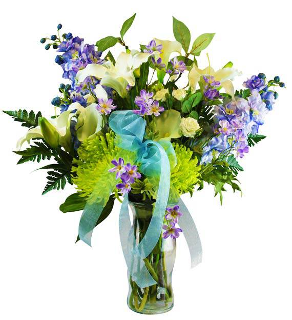 Pastel Sympathy Vase