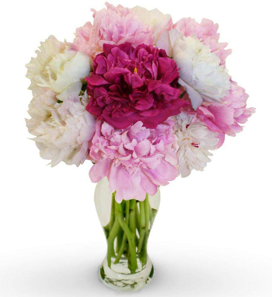 Peony bouquet avas flowers for Pictures of flowers bouquet
