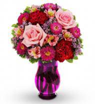 Pink and Red Medley Bouquet