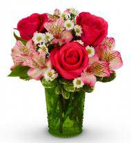Pink Rose Rendezvous Bouquet