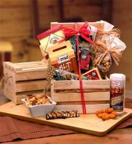 Premium Nuts & Snacks Crate