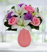 Refreshing Lavender and Pink Spring Bouquet
