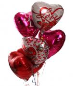 Romance Mylar Balloons