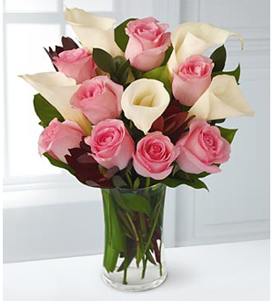 Rose and Lily Celebration Bouquet