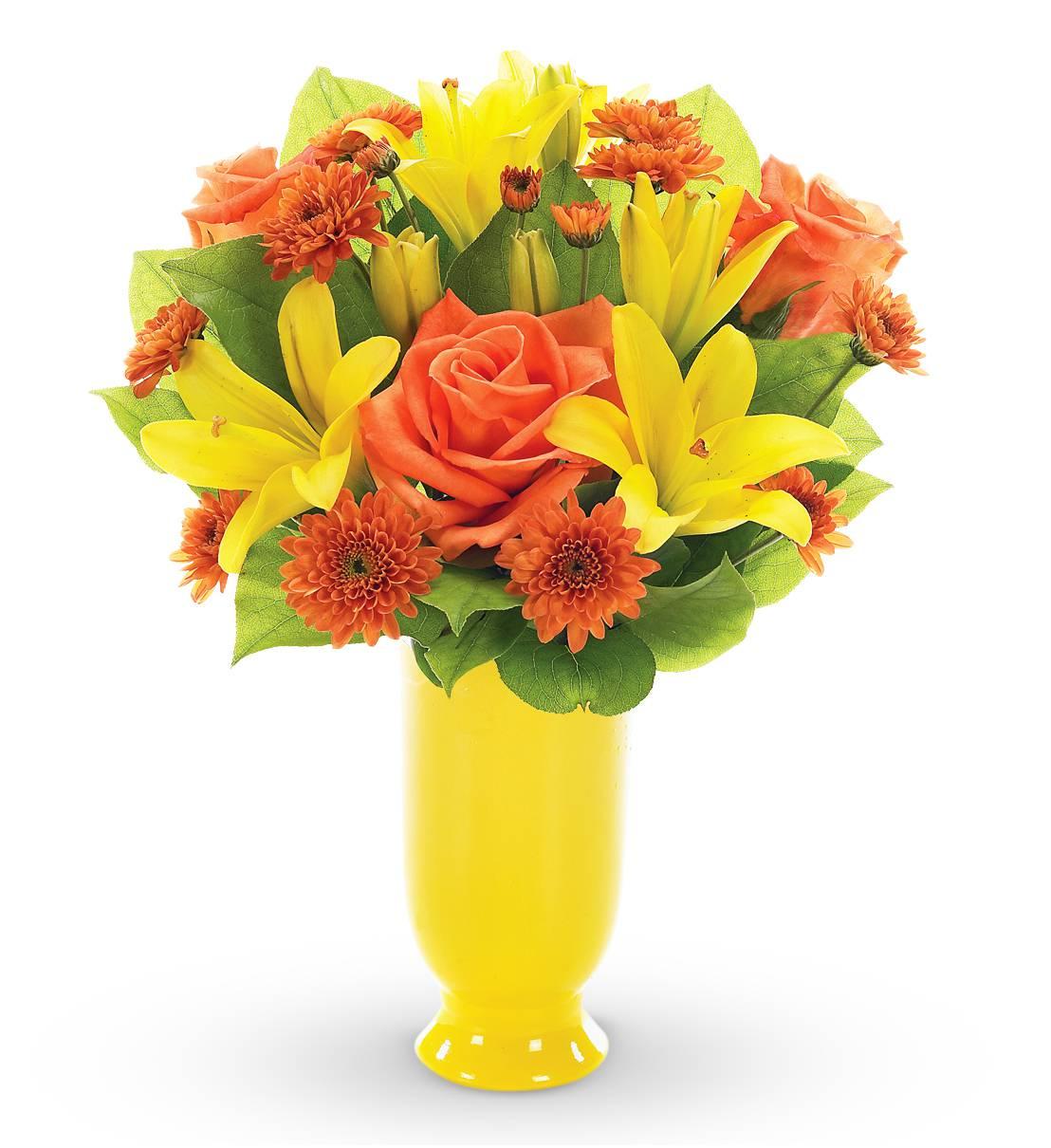 So Pretty Yellow Bouquet