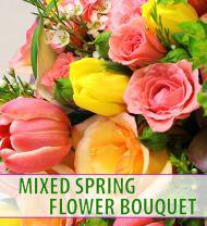 Mixed Spring Flower Bouquet