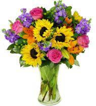 Sunflower Symphony Bouquet