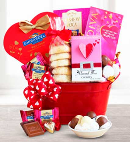 Sweet Shop Valentine Basket