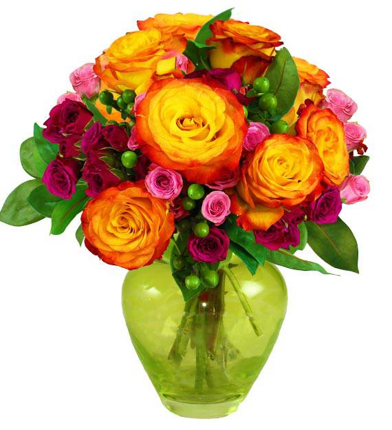 Sweet Sorbet Bouquet