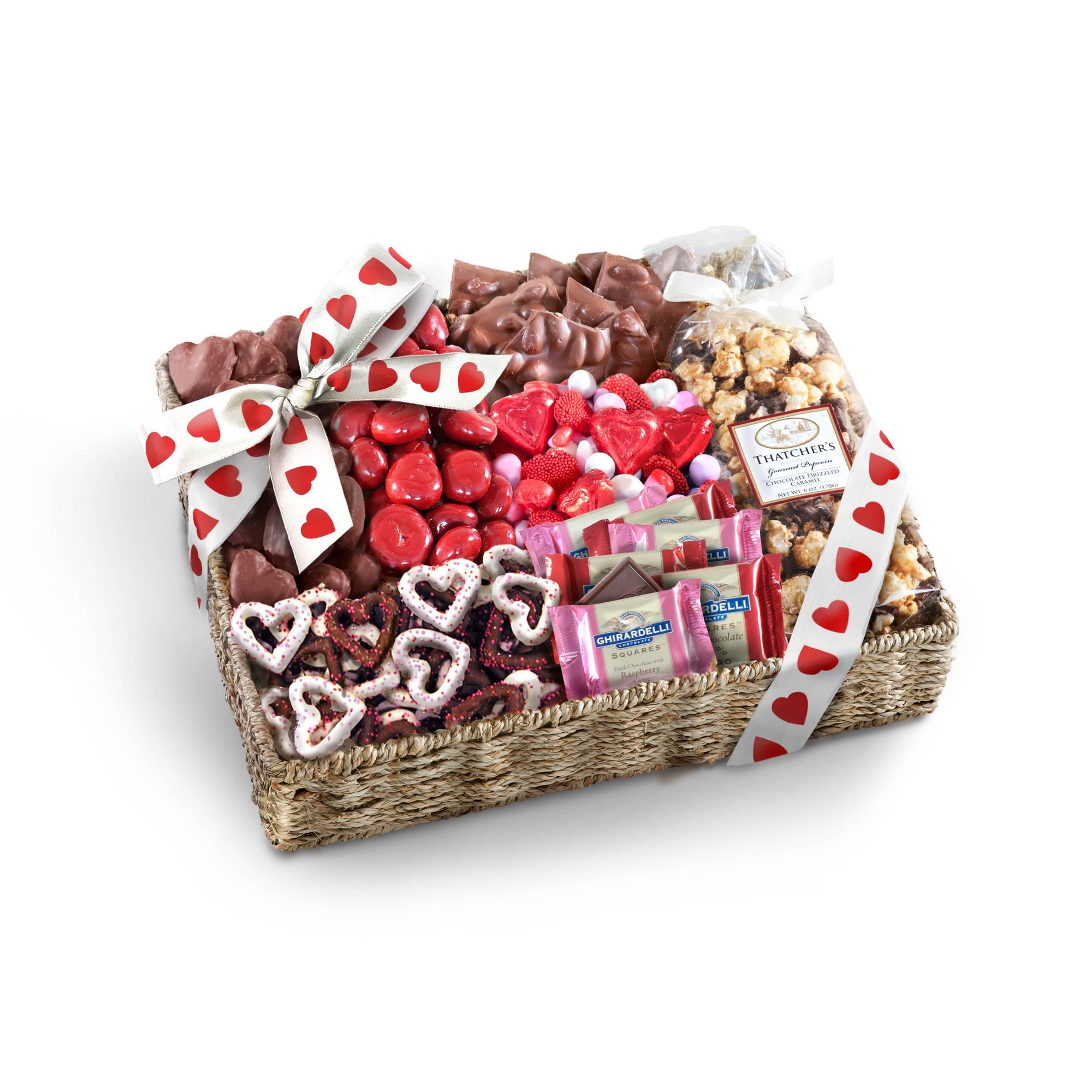 Sweet Them Off Their Feet Valentine's Gourmet Basket
