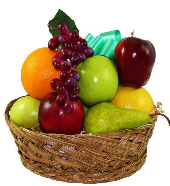 Sympathy Fruits Abound Basket