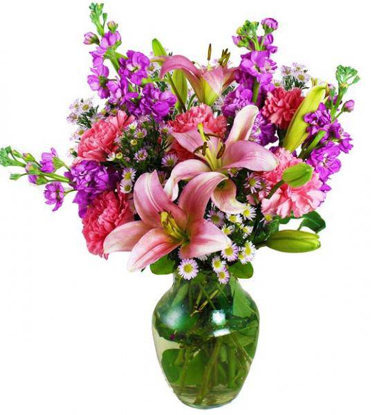 Flowers: Too Beautiful Pink And Lavender Delight Bouquet - Large