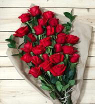 24 Red Roses - Farm Fresh