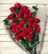 24 Red Roses - Farm Fresh