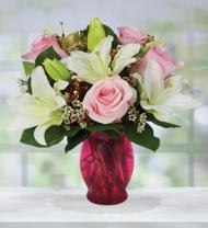 Valentine Roses & Lilies