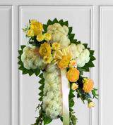Yellow Sympathy Cross