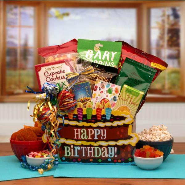 Flowers: You Take The Cake Birthday Gift Box