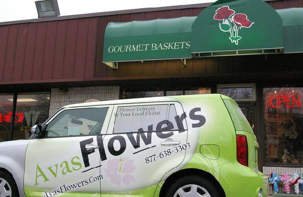 Avas Flowers Delivery Van
